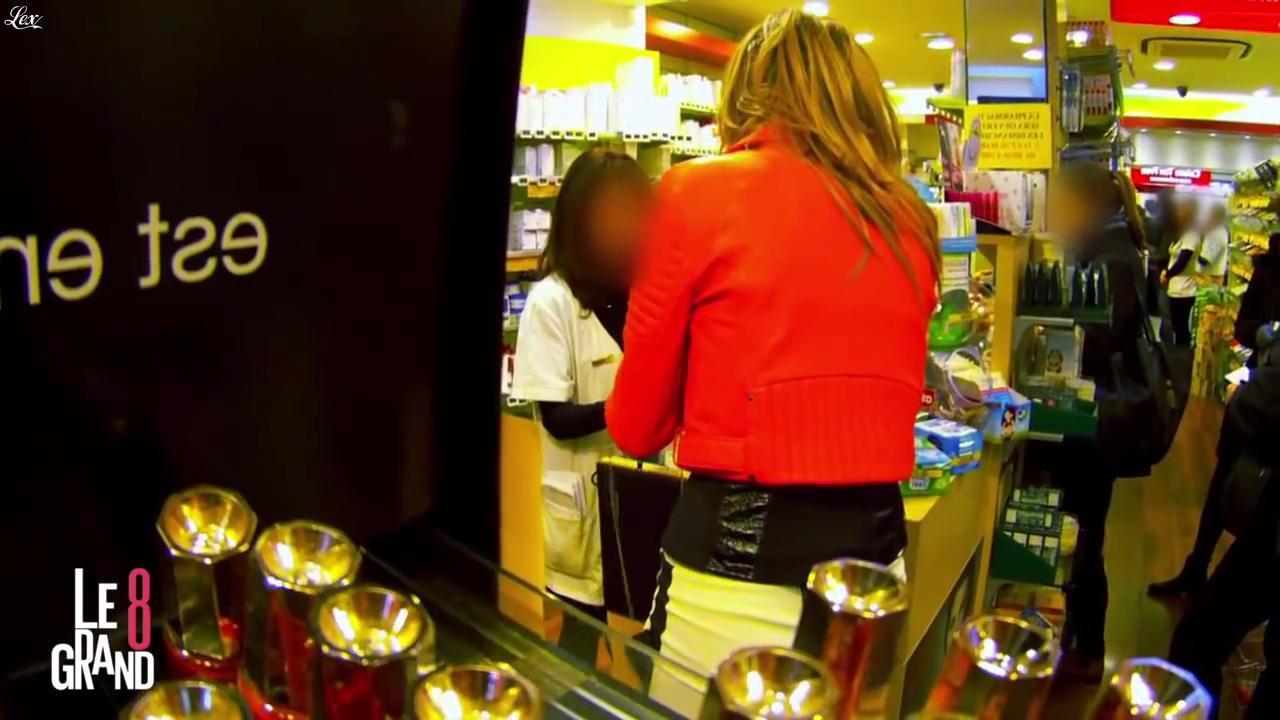Caroline Ithurbide dans le Grand 8. Diffusé à la télévision le 11/03/14.