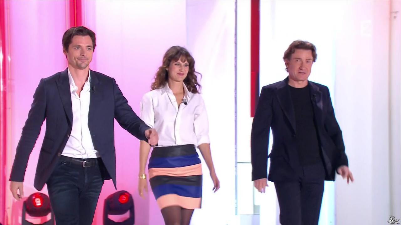 Elodie Navarre dans Vivement Dimanche Prochain. Diffusé à la télévision le 19/10/14.