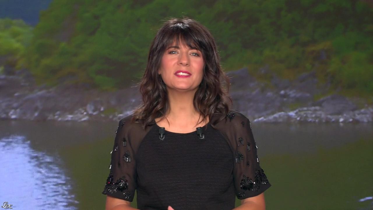 Estelle Denis dans My Million. Diffusé à la télévision le 17/10/14.