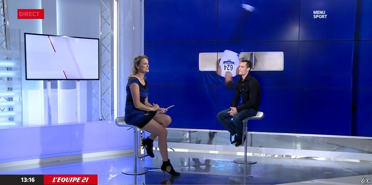 France Pierron dans Menu Sport. Diffusé à la télévision le 22/10/14.