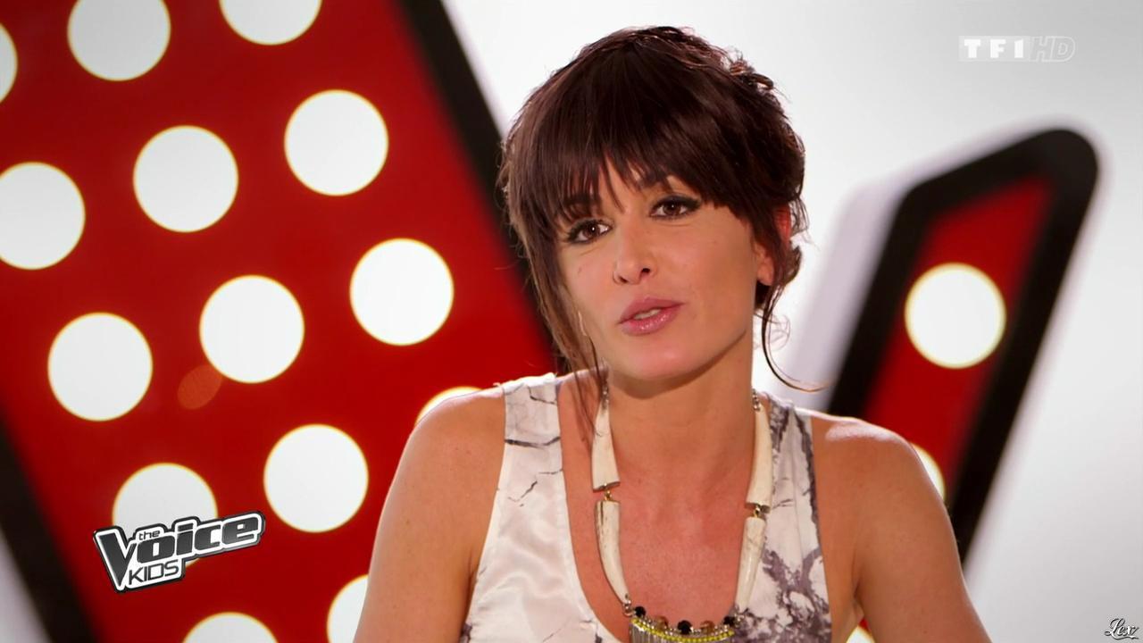 Jenifer Bartoli dans The Voice Kids. Diffusé à la télévision le 06/09/14.