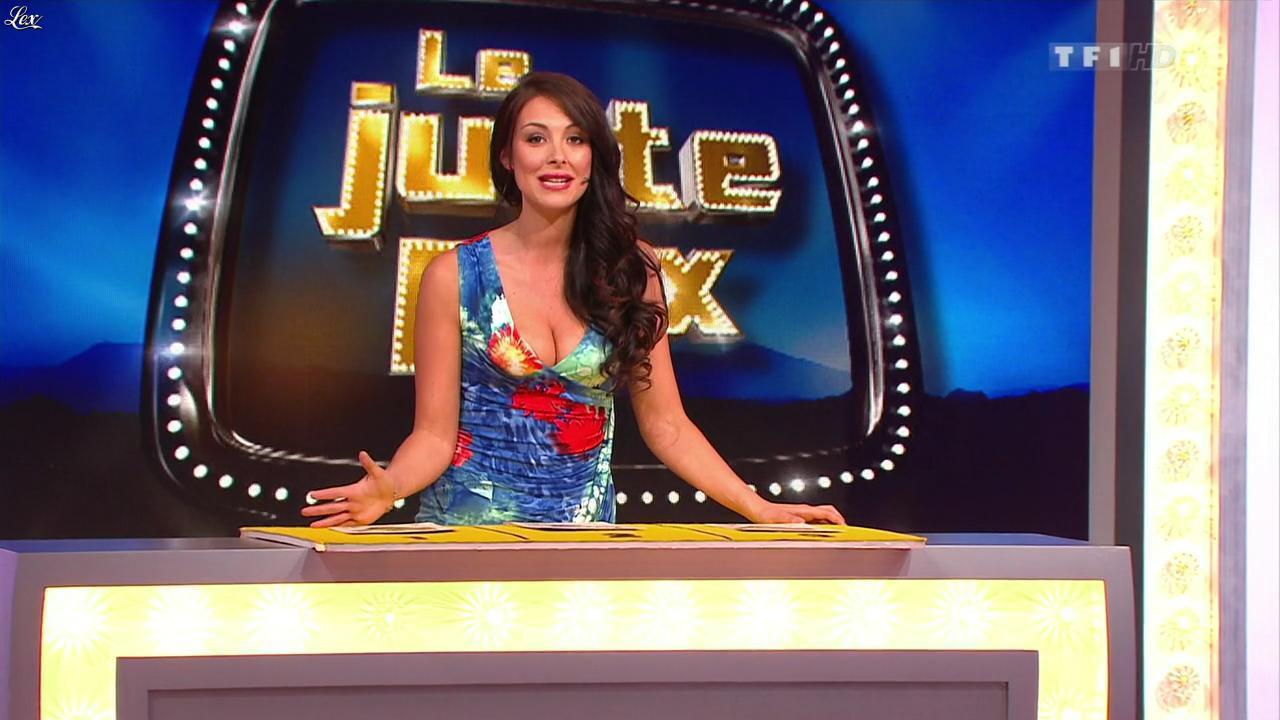 Fanny Veyrac dans le Juste Prix. Diffusé à la télévision le 29/08/13.