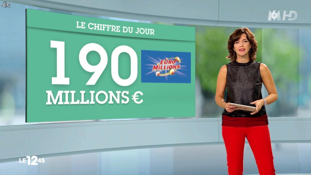 Nathalie Renoux dans le 12-45. Diffusé à la télévision le 25/10/14.