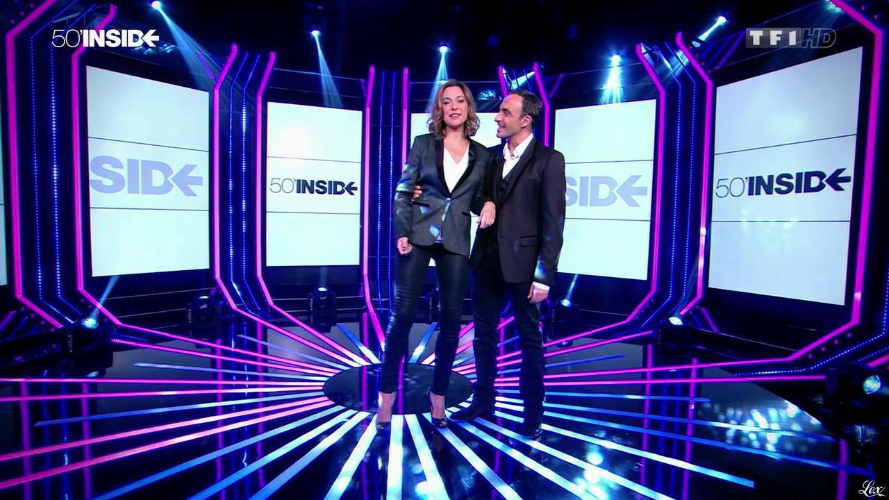 Sandrine Quétier dans 50 Minutes Inside. Diffusé à la télévision le 25/10/14.