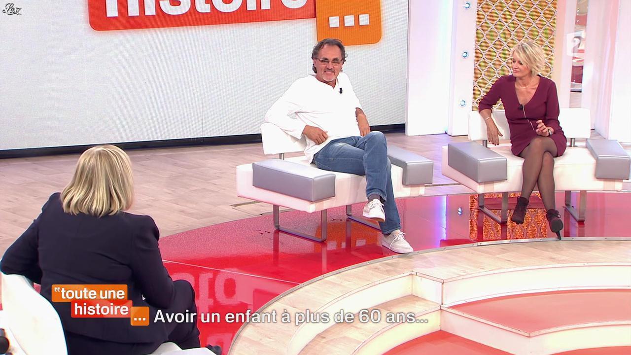 Sophie Davant dans Toute une Histoire. Diffusé à la télévision le 05/11/14.