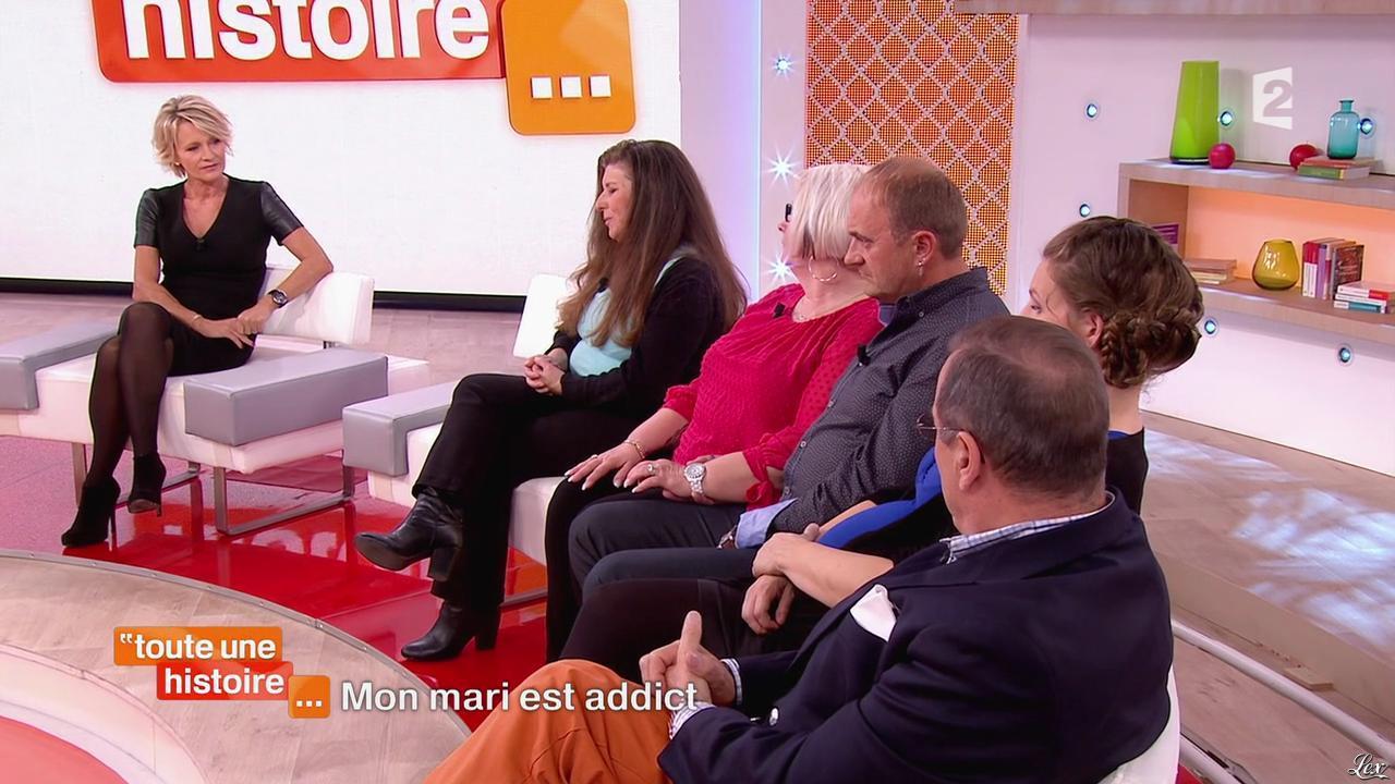 Sophie Davant dans Toute une Histoire. Diffusé à la télévision le 07/11/14.