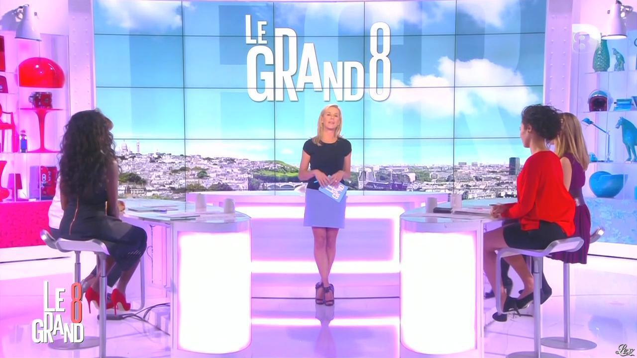 Laurence Ferrari, Aïda Touihri et Hapsatou Sy dans le Grand 8. Diffusé à la télévision le 16/10/15.