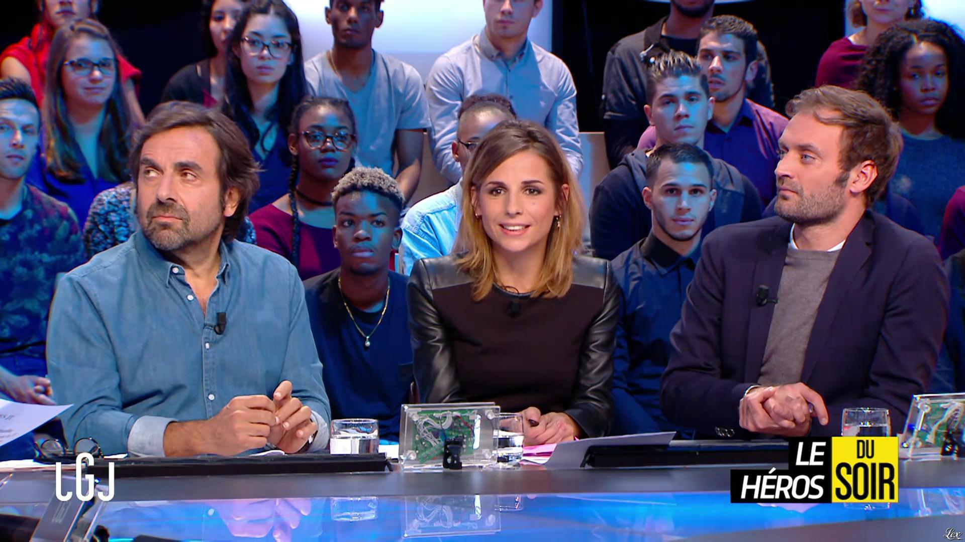 Alice Darfeuille dans le Grand Journal. Diffusé à la télévision le 18/10/16.