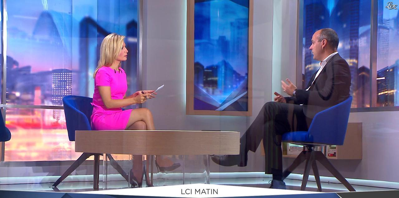 Audrey Crespo-Mara dans LCI Matin. Diffusé à la télévision le 07/09/16.