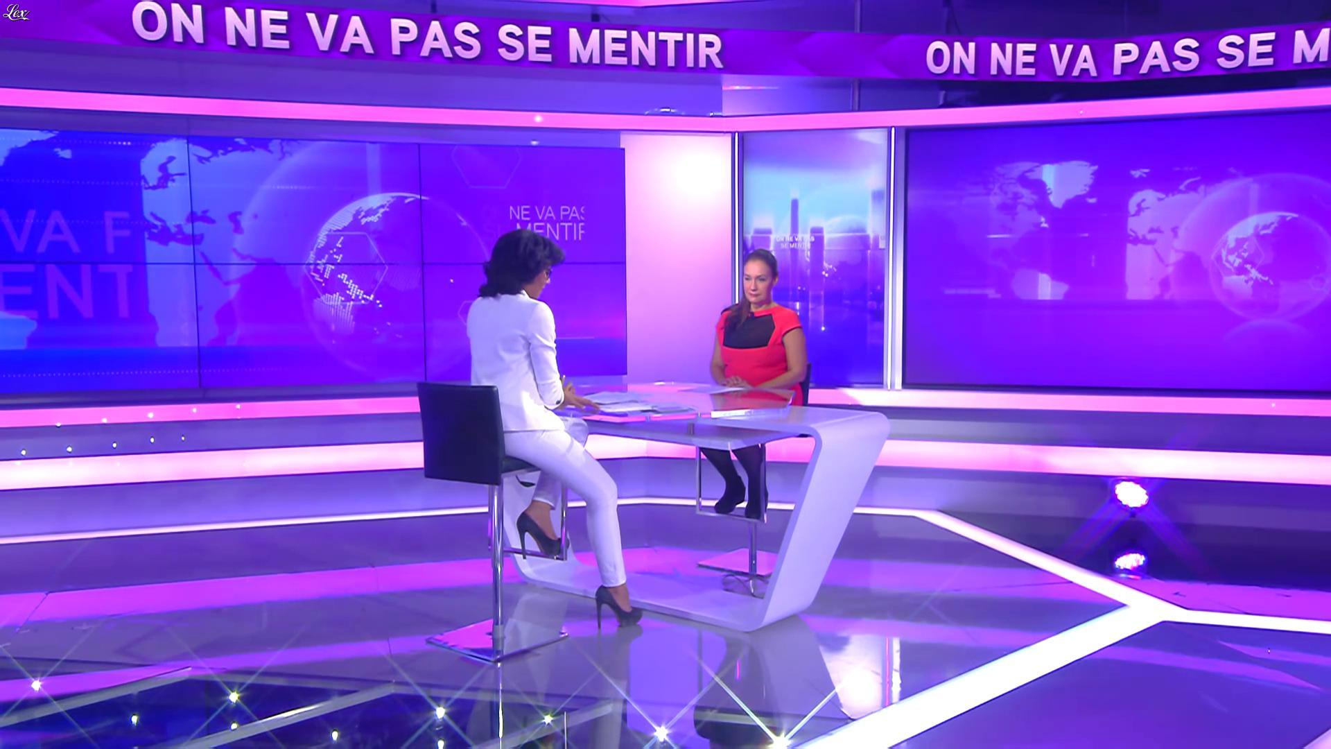 Audrey Pulvar dans On Ne Va pas Se Mentir. Diffusé à la télévision le 04/05/16.