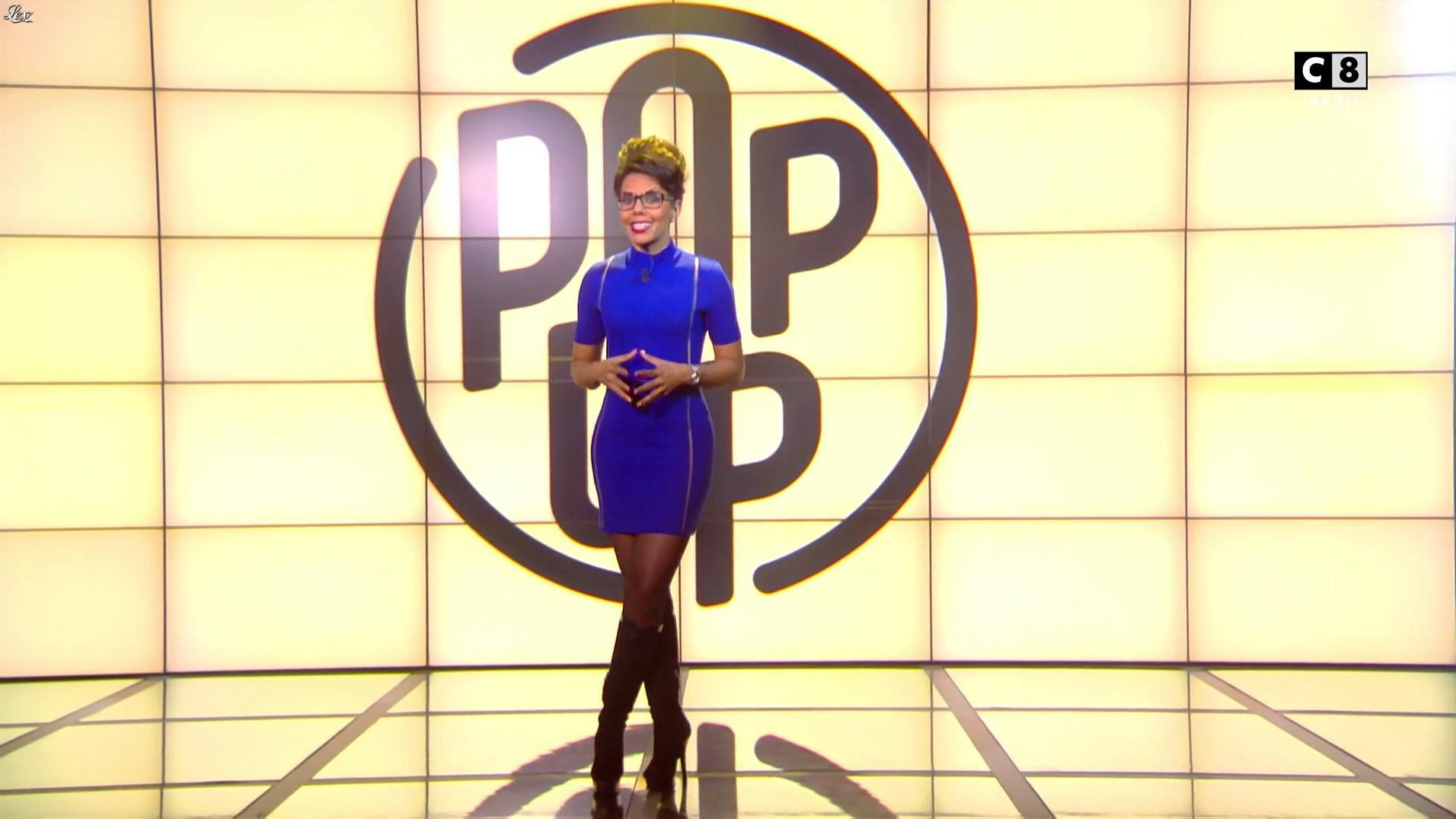 Audrey Pulvar dans Popup. Diffusé à la télévision le 05/11/16.