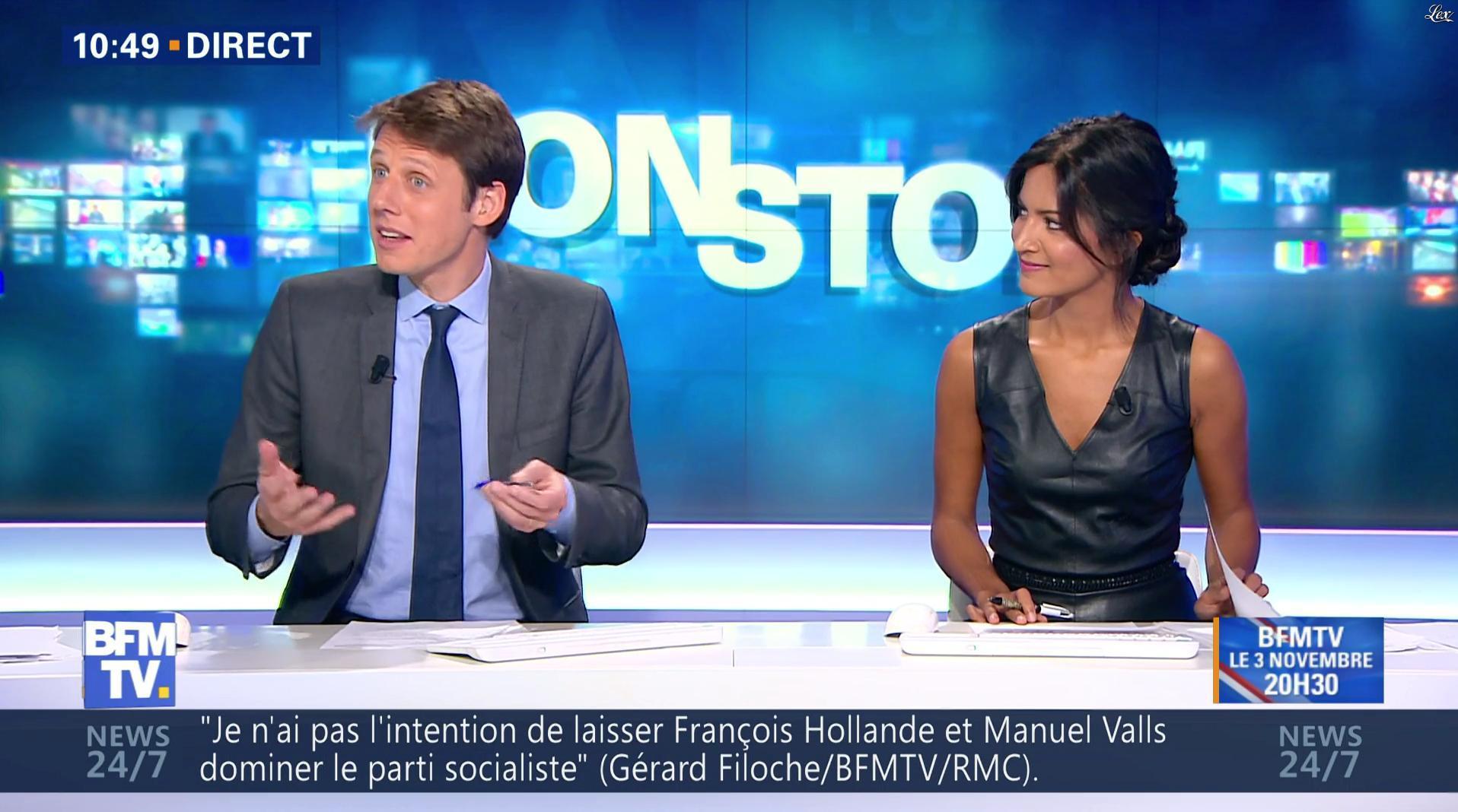 Aurélie Casse dans Non Stop. Diffusé à la télévision le 01/11/16.