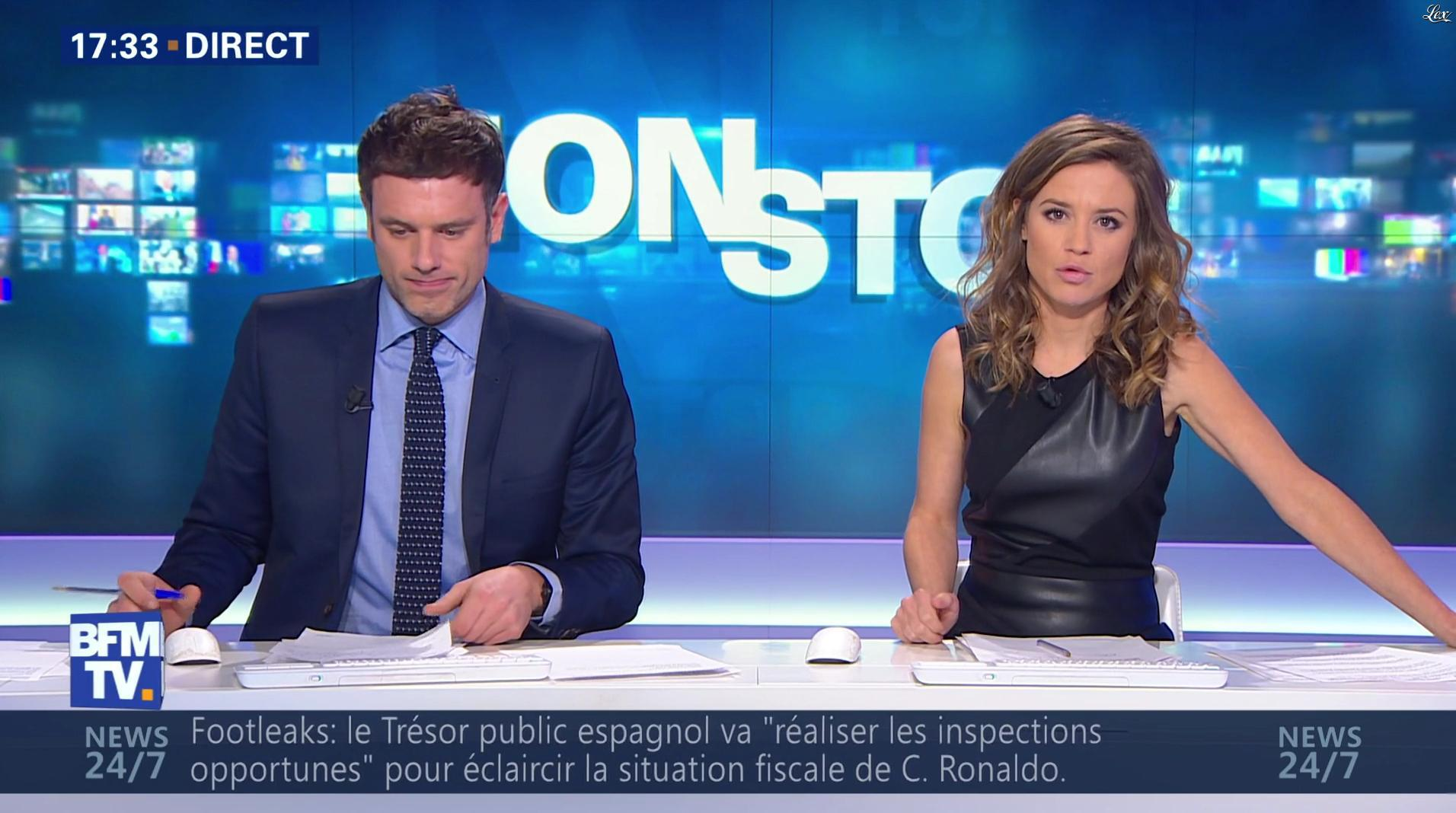 Céline Pitelet dans Non Stop. Diffusé à la télévision le 03/12/16.