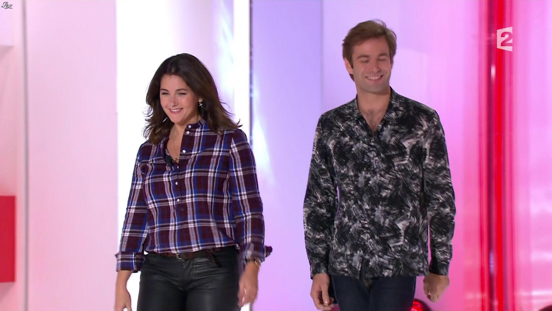 Cristiana Reali dans Vivement Dimanche. Diffusé à la télévision le 20/11/16.