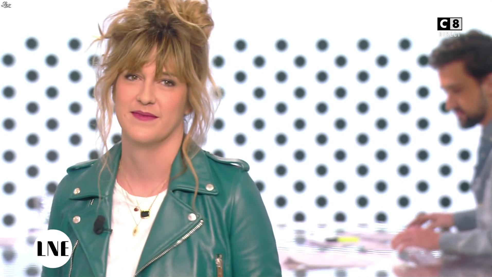 Daphné Burki dans la Nouvelle Edition. Diffusé à la télévision le 23/11/16.