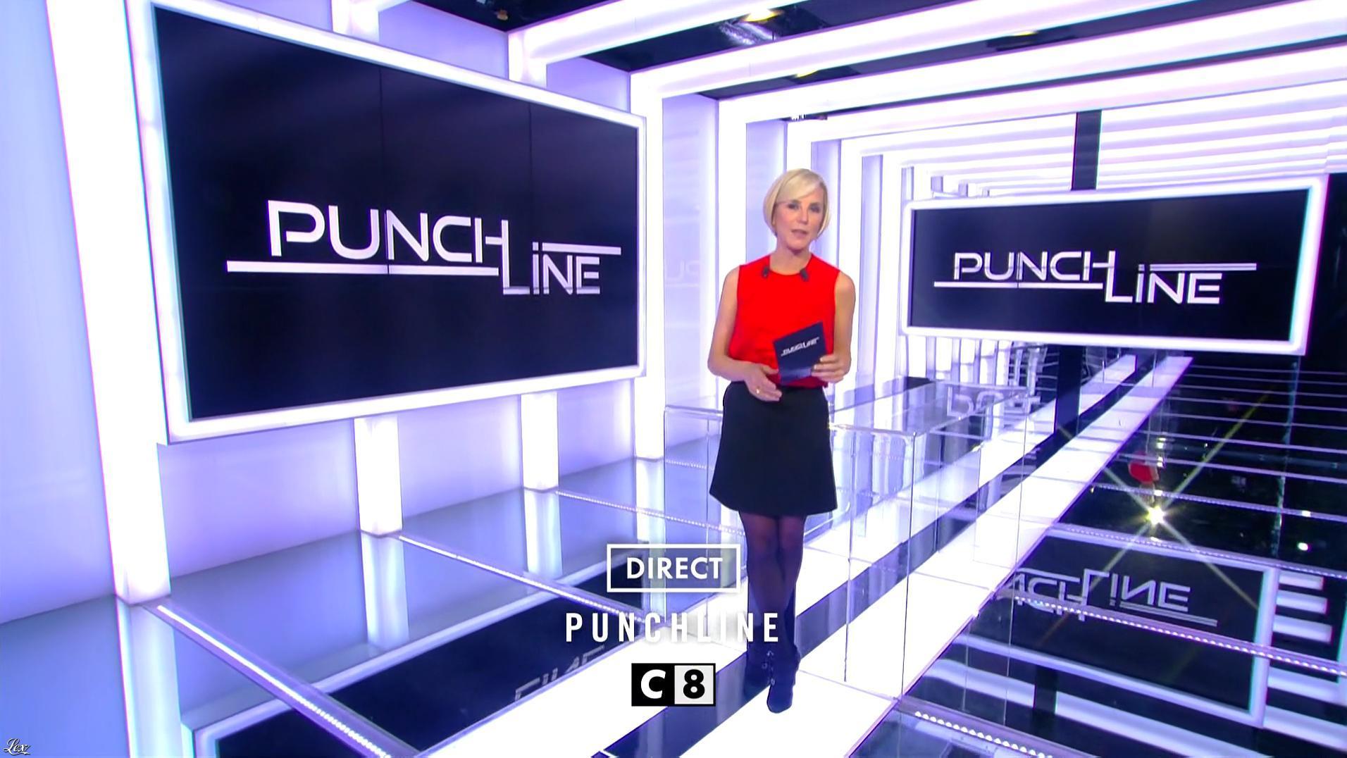 Laurence Ferrari dans une Bande-Annonce de Punchline. Diffusé à la télévision le 02/12/16.