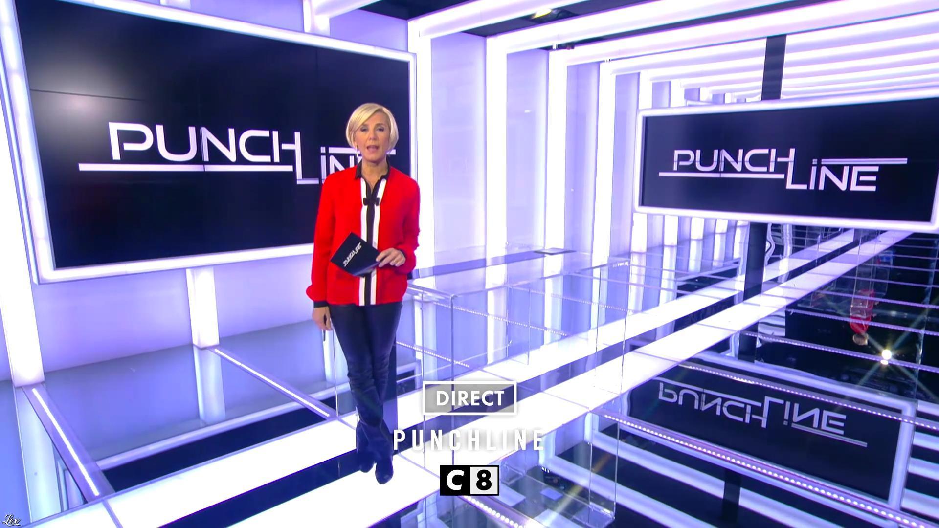 Laurence Ferrari dans une Bande-Annonce de Punchline. Diffusé à la télévision le 26/11/16.