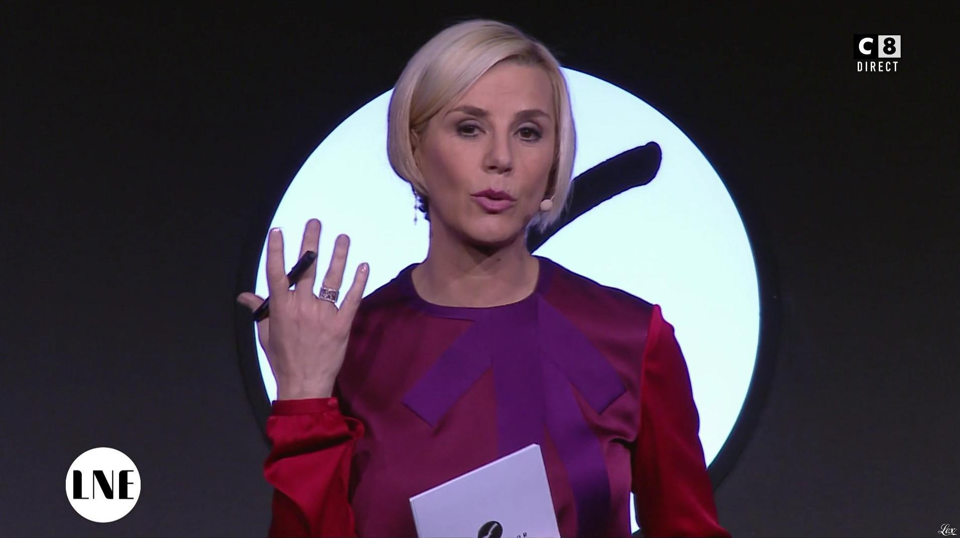 Laurence Ferrari dans la Nouvelle Edition. Diffusé à la télévision le 01/12/16.