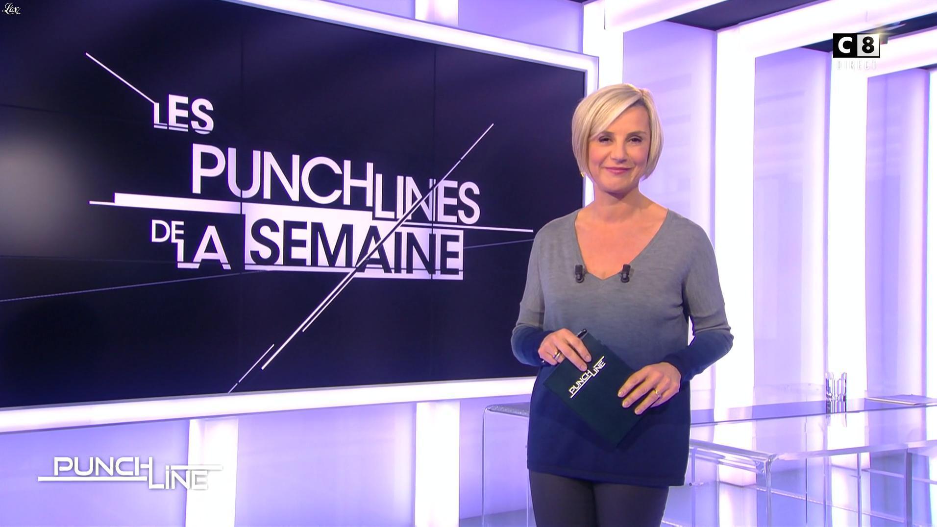 Laurence Ferrari dans Punchline. Diffusé à la télévision le 04/12/16.