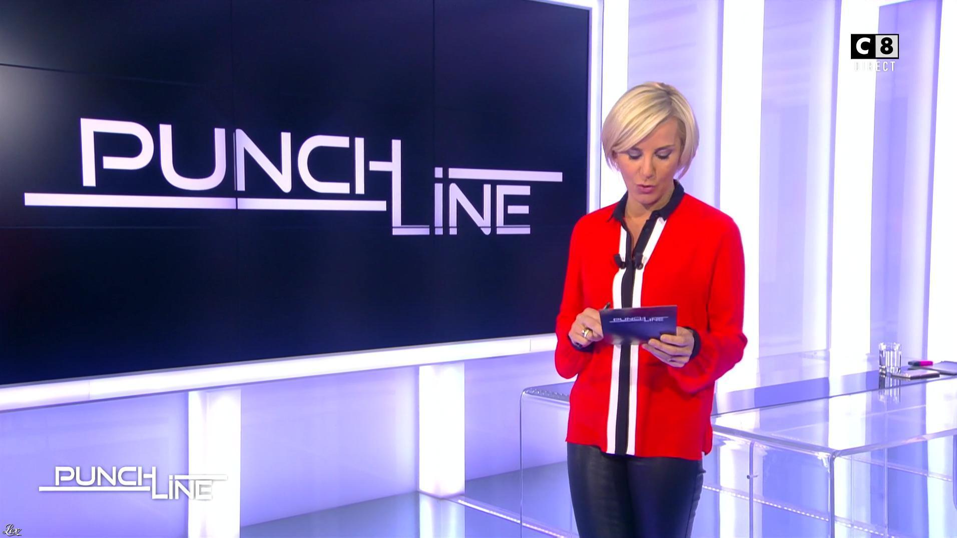 Laurence Ferrari dans Punchline. Diffusé à la télévision le 20/11/16.