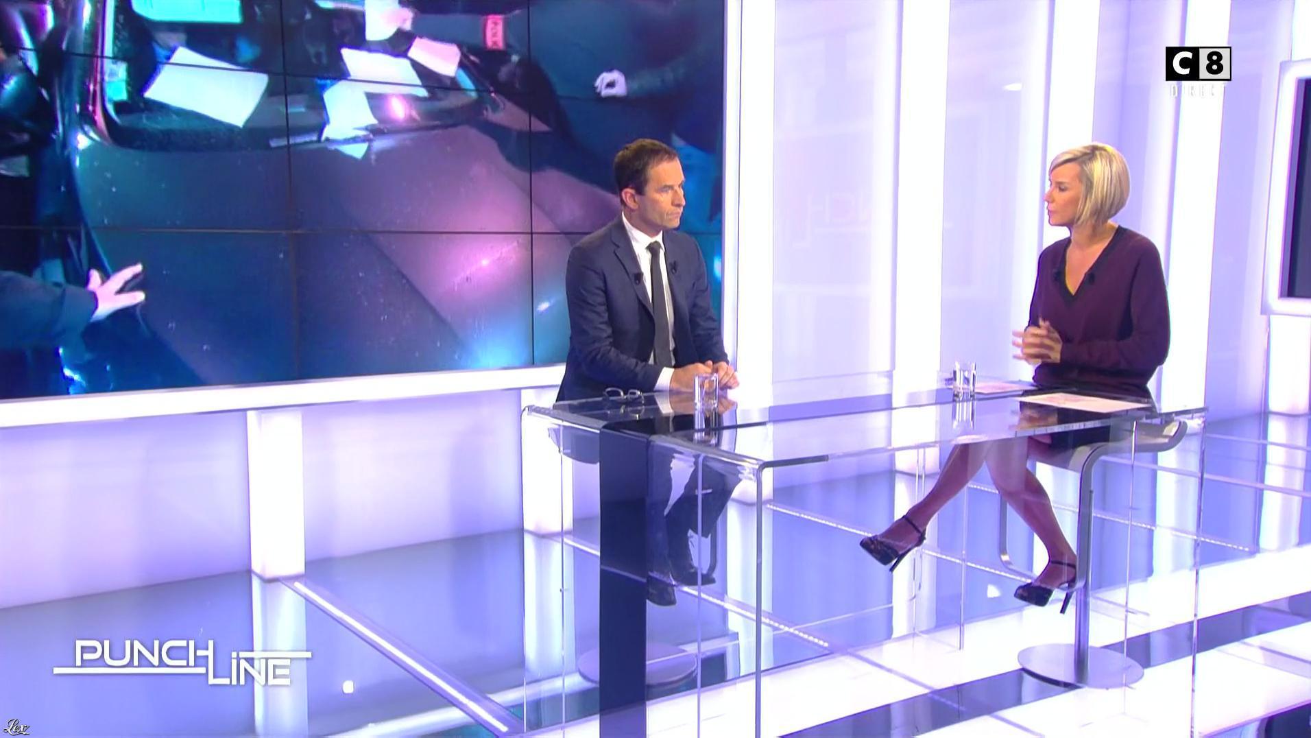 Laurence Ferrari dans Punchline. Diffusé à la télévision le 23/10/16.