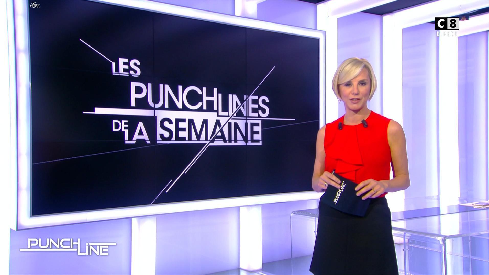 Laurence Ferrari dans Punchline. Diffusé à la télévision le 27/11/16.