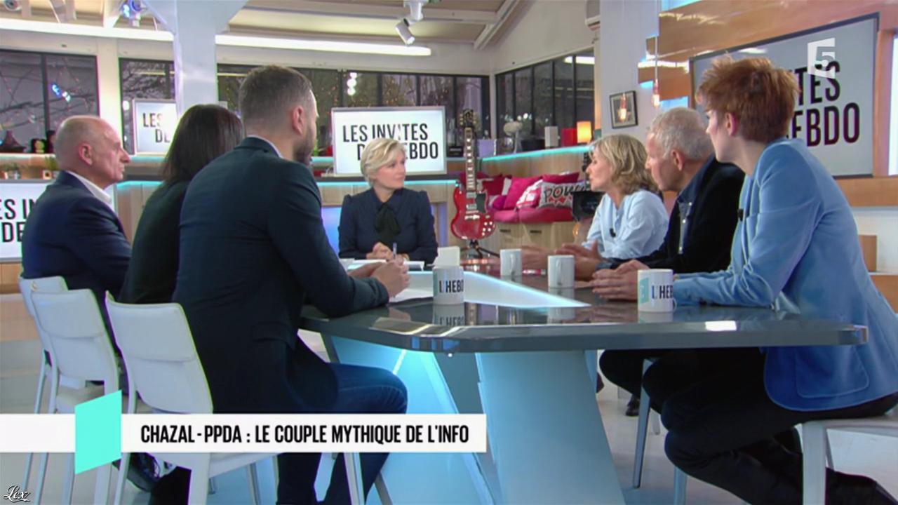 Natacha Polony dans C l'Hebdo. Diffusé à la télévision le 26/11/16.