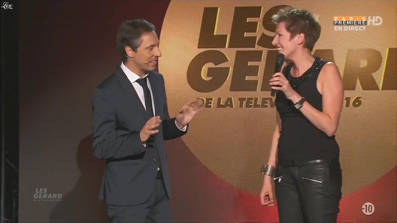 Natacha Polony lors des Gerard de la Télévision. Diffusé à la télévision le 30/05/16.