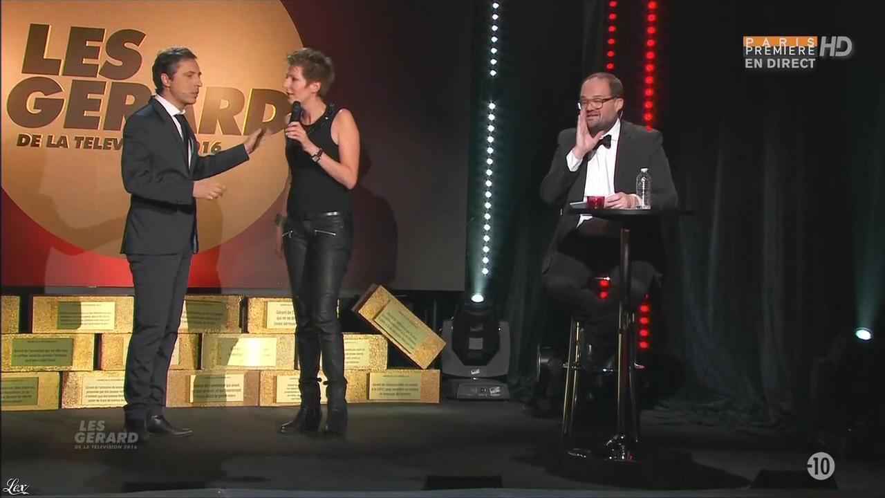 Natacha Polony dans les Gerard de la télévision. Diffusé à la télévision le 30/05/16.