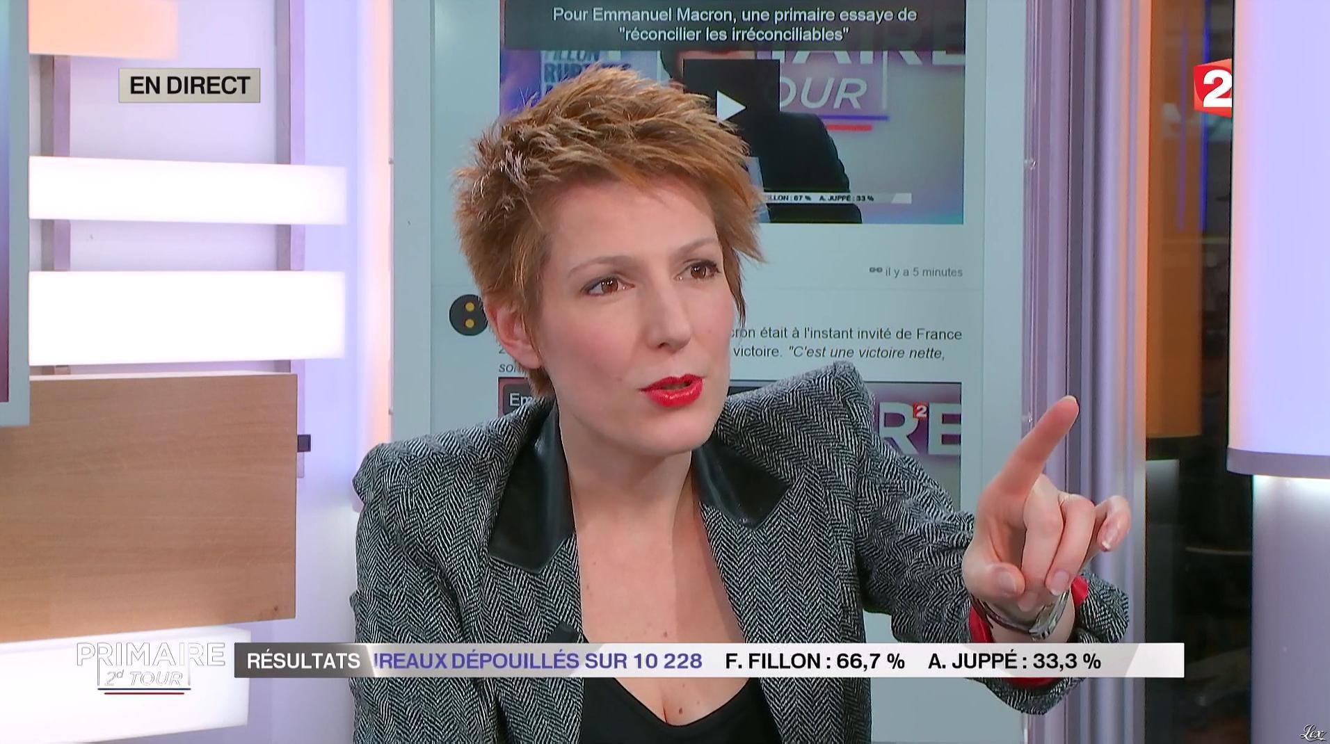 Natacha Polony dans Second Tour des Primaires. Diffusé à la télévision le 27/11/16.