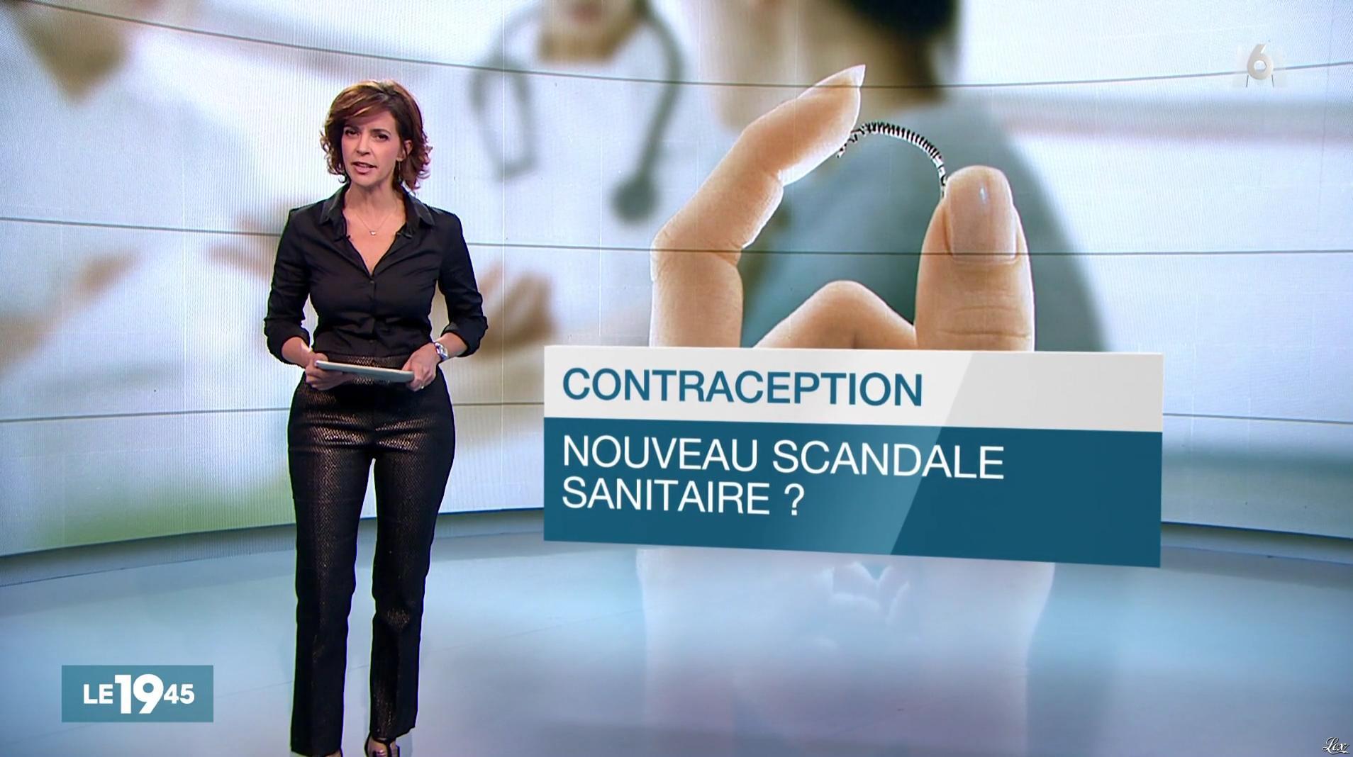 Nathalie Renoux dans le 19-45. Diffusé à la télévision le 09/12/16.