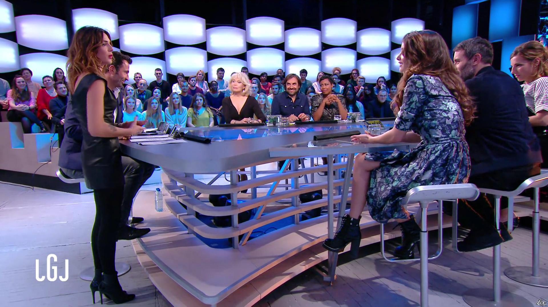 Ornella Fleury dans le Grand Journal. Diffusé à la télévision le 16/11/16.