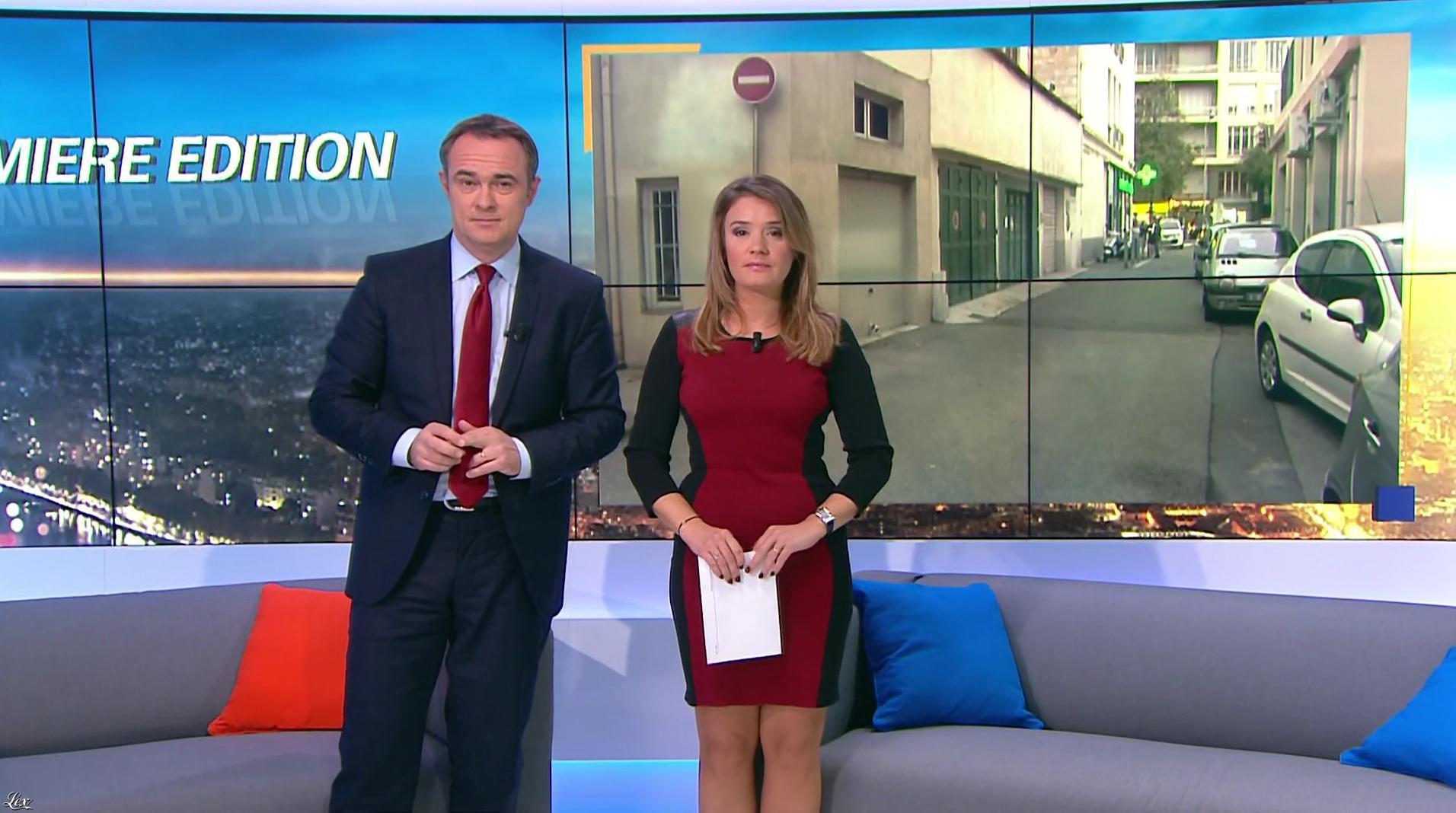Pascale De La Tour Du Pin dans Première Edition. Diffusé à la télévision le 25/10/16.
