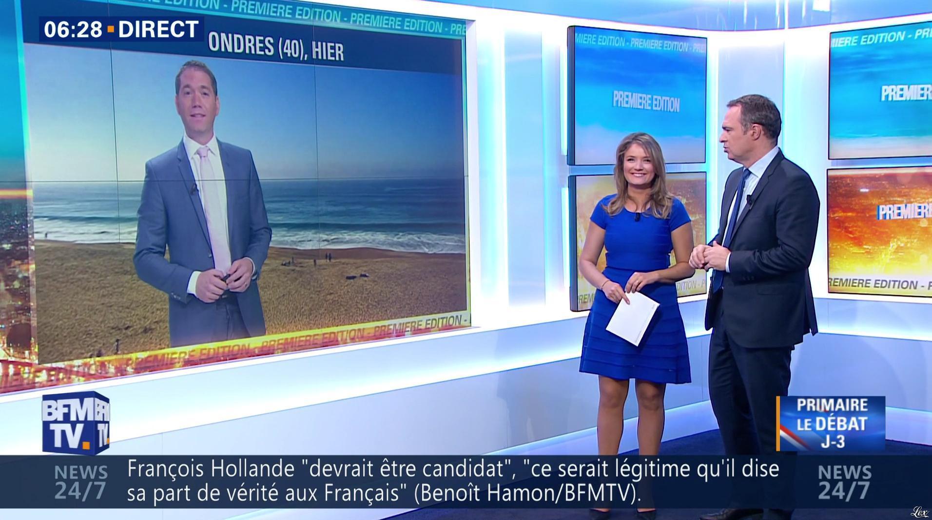 Pascale De La Tour Du Pin dans Première Edition. Diffusé à la télévision le 31/10/16.