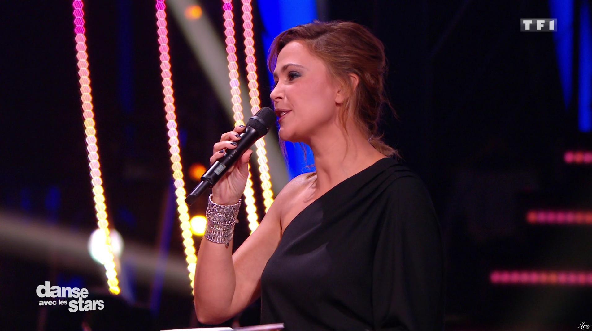 Sandrine Quétier dans Danse avec les Stars. Diffusé à la télévision le 29/10/16.