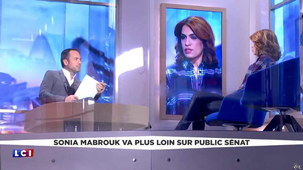 Sonia Mabrouk dans la Médiasphère. Diffusé à la télévision le 13/12/16.