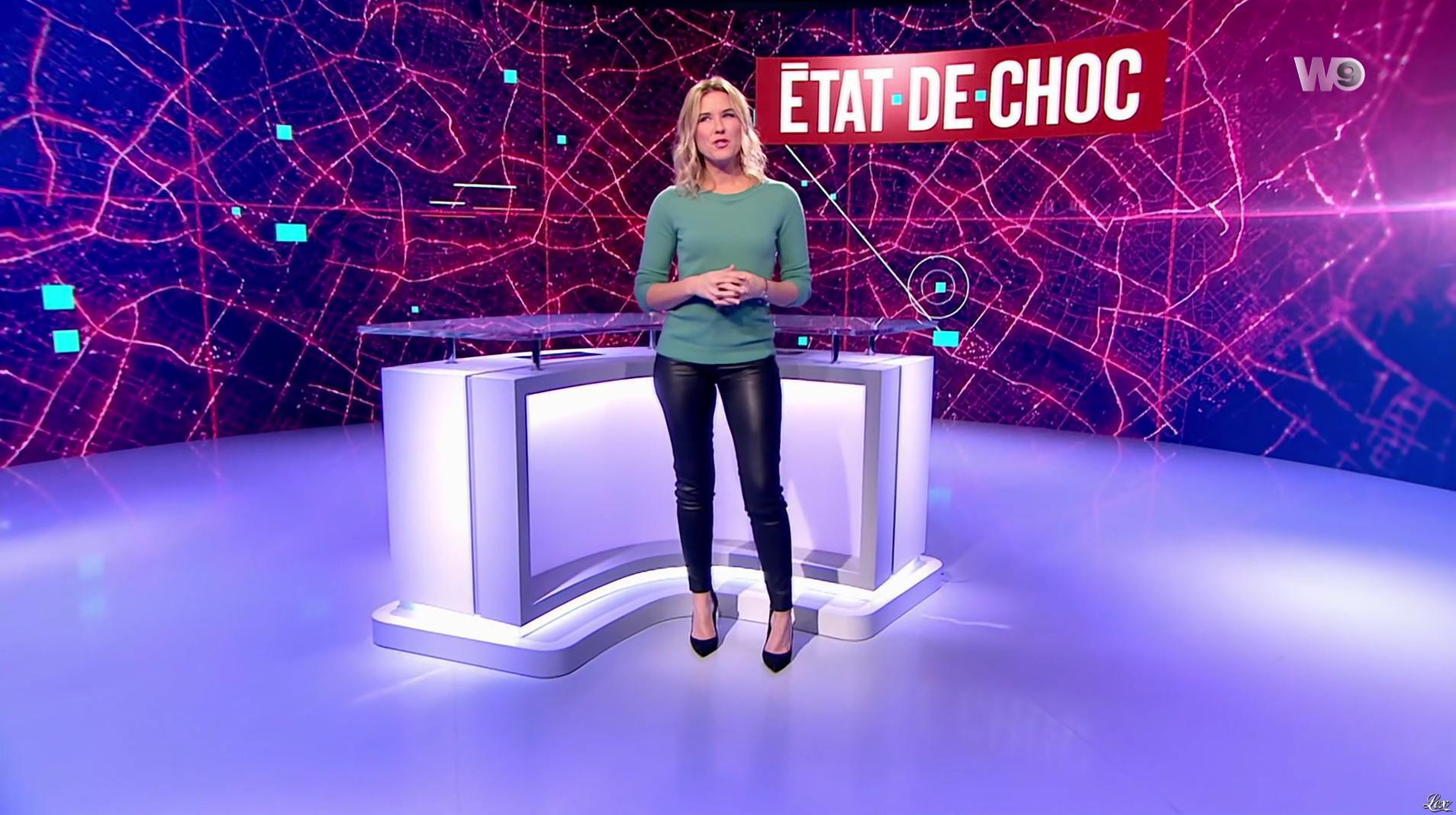 Stéphanie Renouvin dans Etat de Choc. Diffusé à la télévision le 06/12/16.