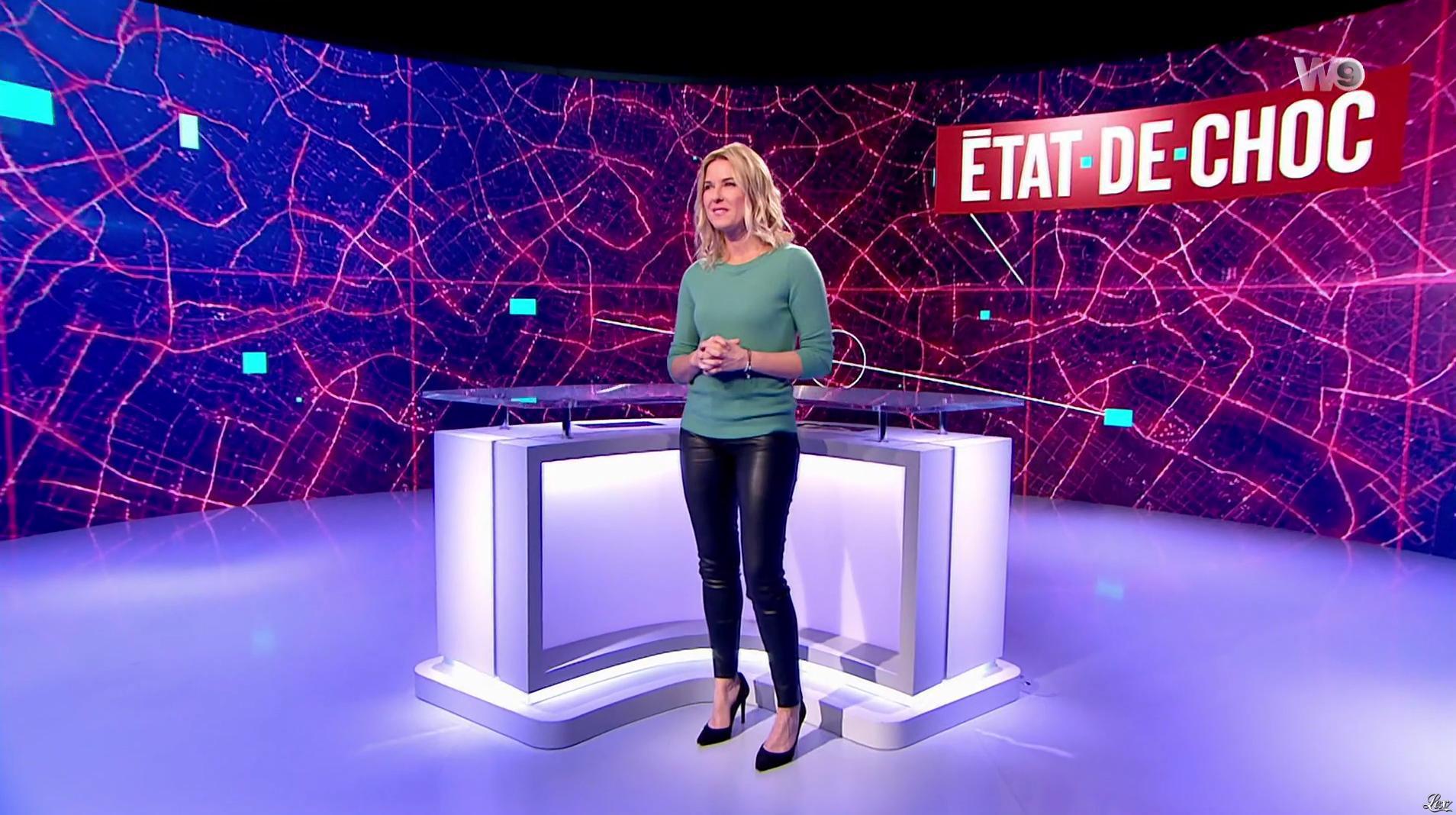 Stéphanie Renouvin dans État de Choc. Diffusé à la télévision le 06/12/16.