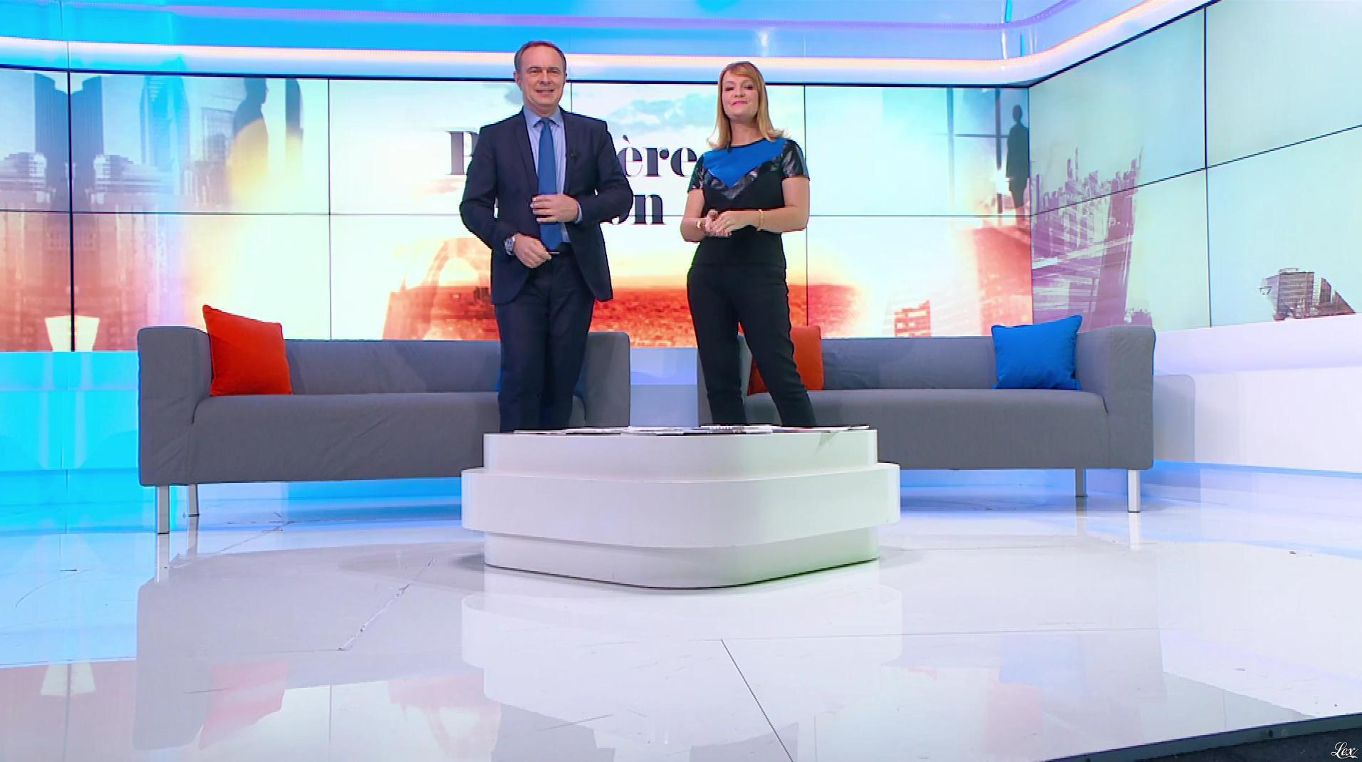 Adeline Francois dans Première Edition. Diffusé à la télévision le 05/10/17.