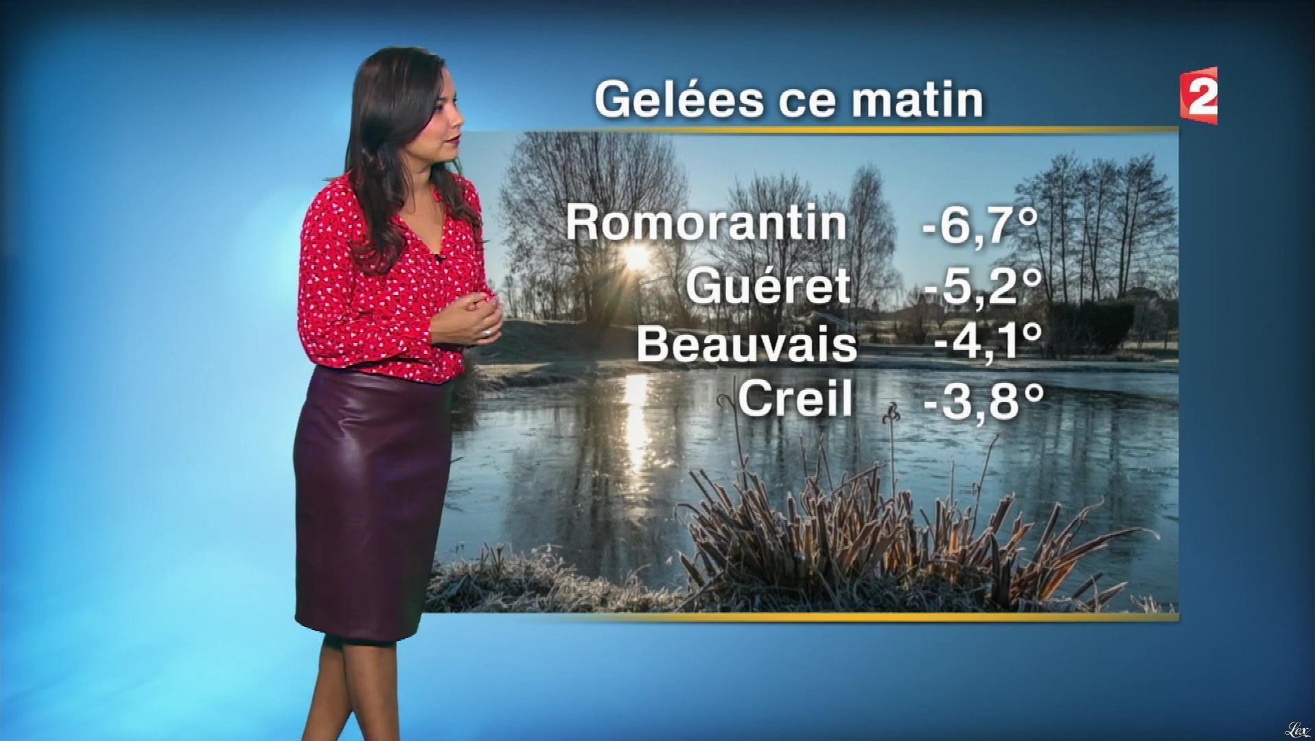 Anais Baydemir à la Météo de Midi. Diffusé à la télévision le 07/11/17.