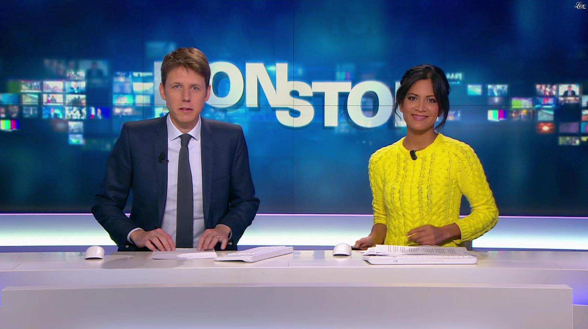 Aurélie Casse dans Non Stop. Diffusé à la télévision le 05/12/17.