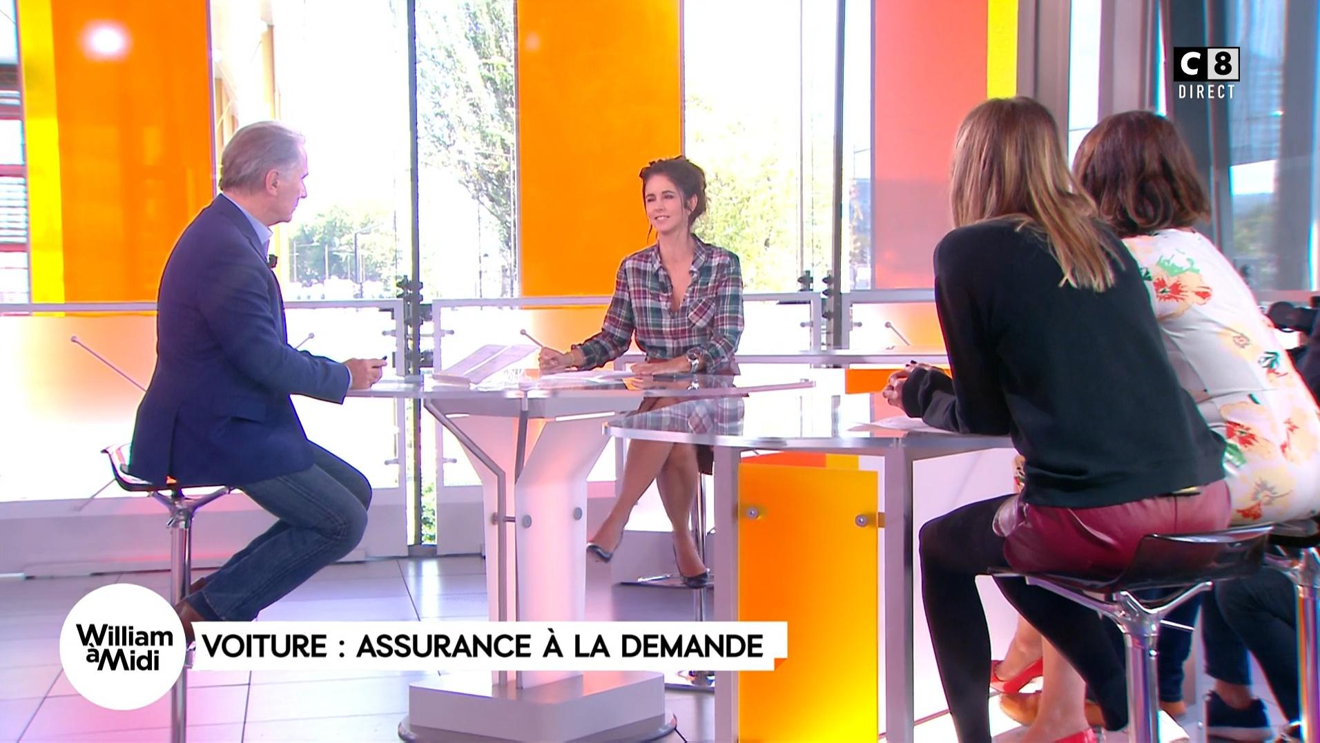 Caroline Ithurbide, Caroline Munoz et Julia Molkhou dans William à Midi. Diffusé à la télévision le 21/09/17.