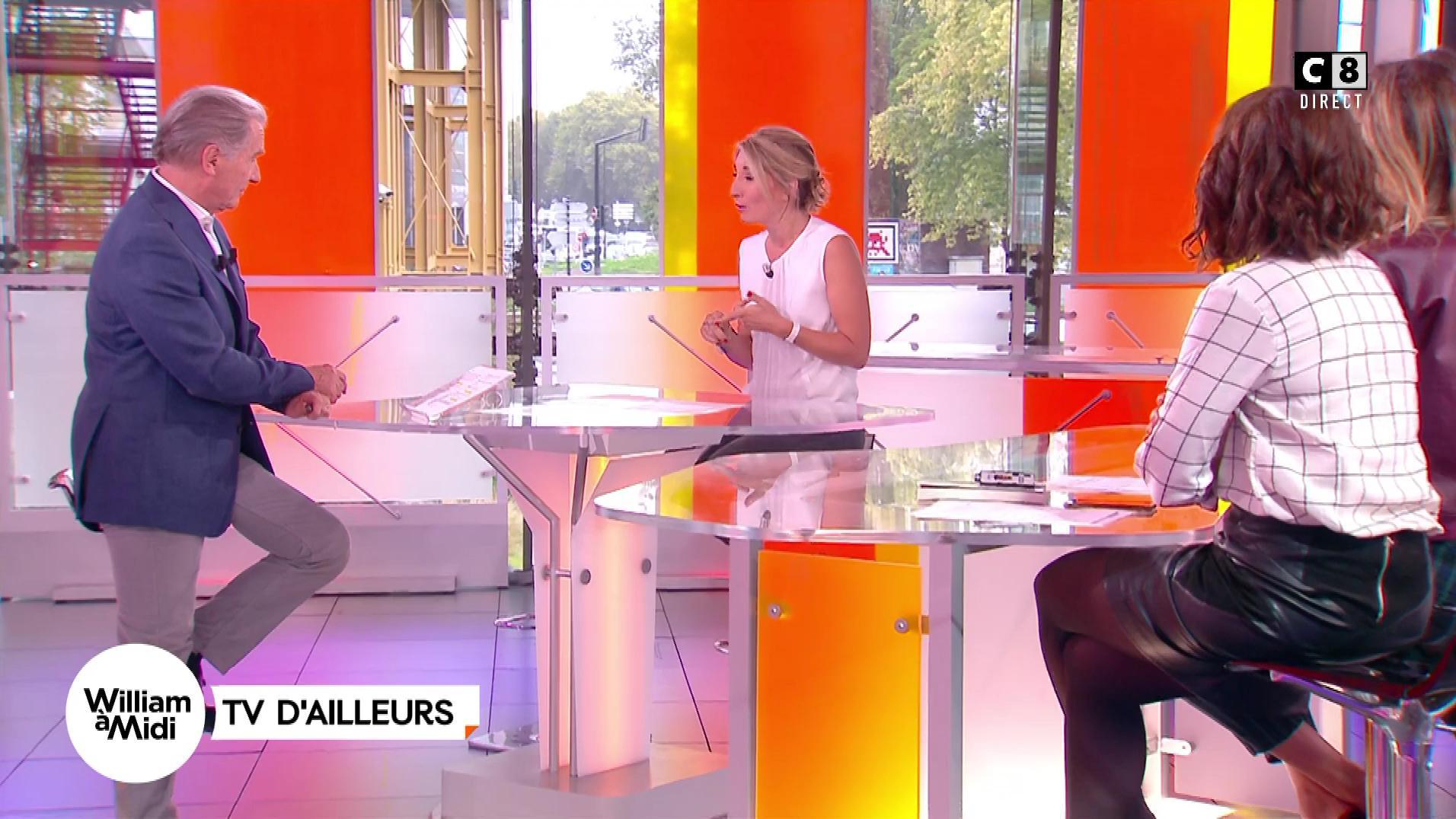 Caroline Ithurbide et Julia Molkhou dans William à Midi. Diffusé à la télévision le 28/09/17.
