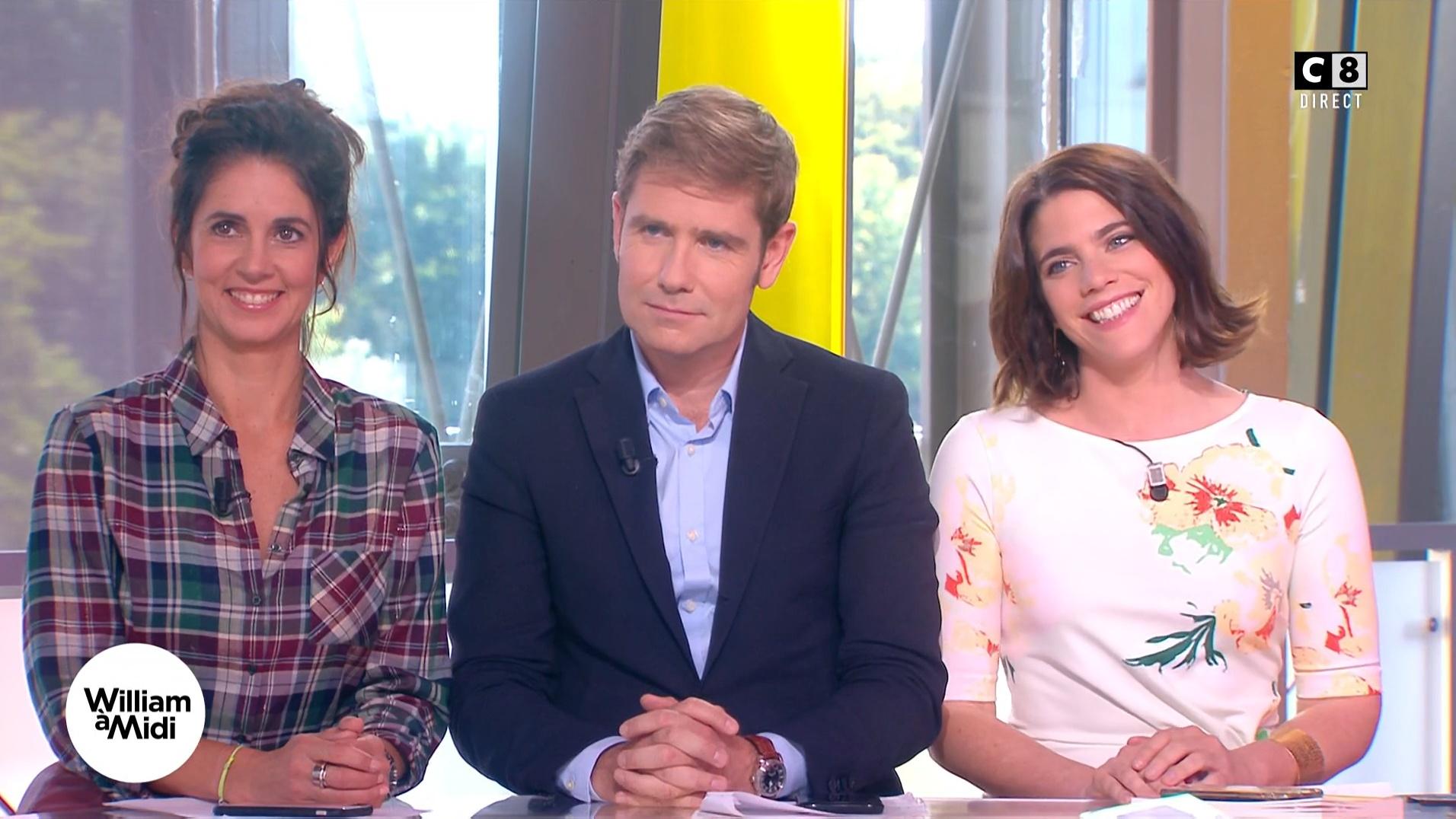 Caroline Munoz et Julia Molkhou dans William à Midi. Diffusé à la télévision le 21/09/17.