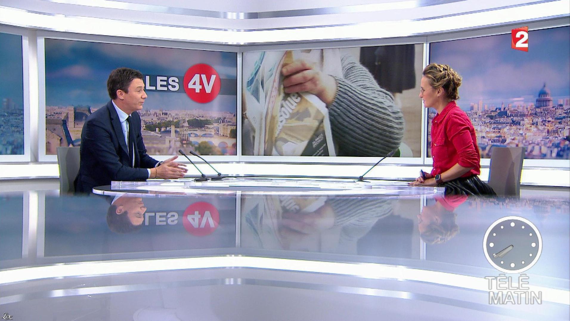 Caroline Roux dans les 4 Vérités. Diffusé à la télévision le 12/12/17.