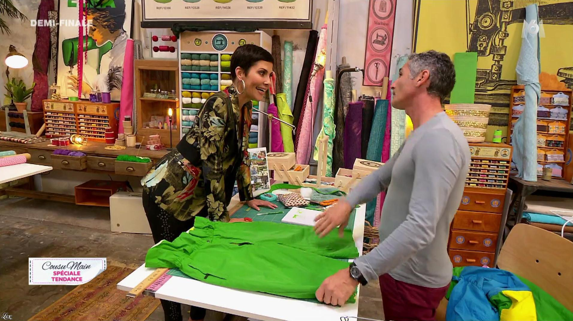 Cristina Cordula dans Cousu Main. Diffusé à la télévision le 14/10/17.