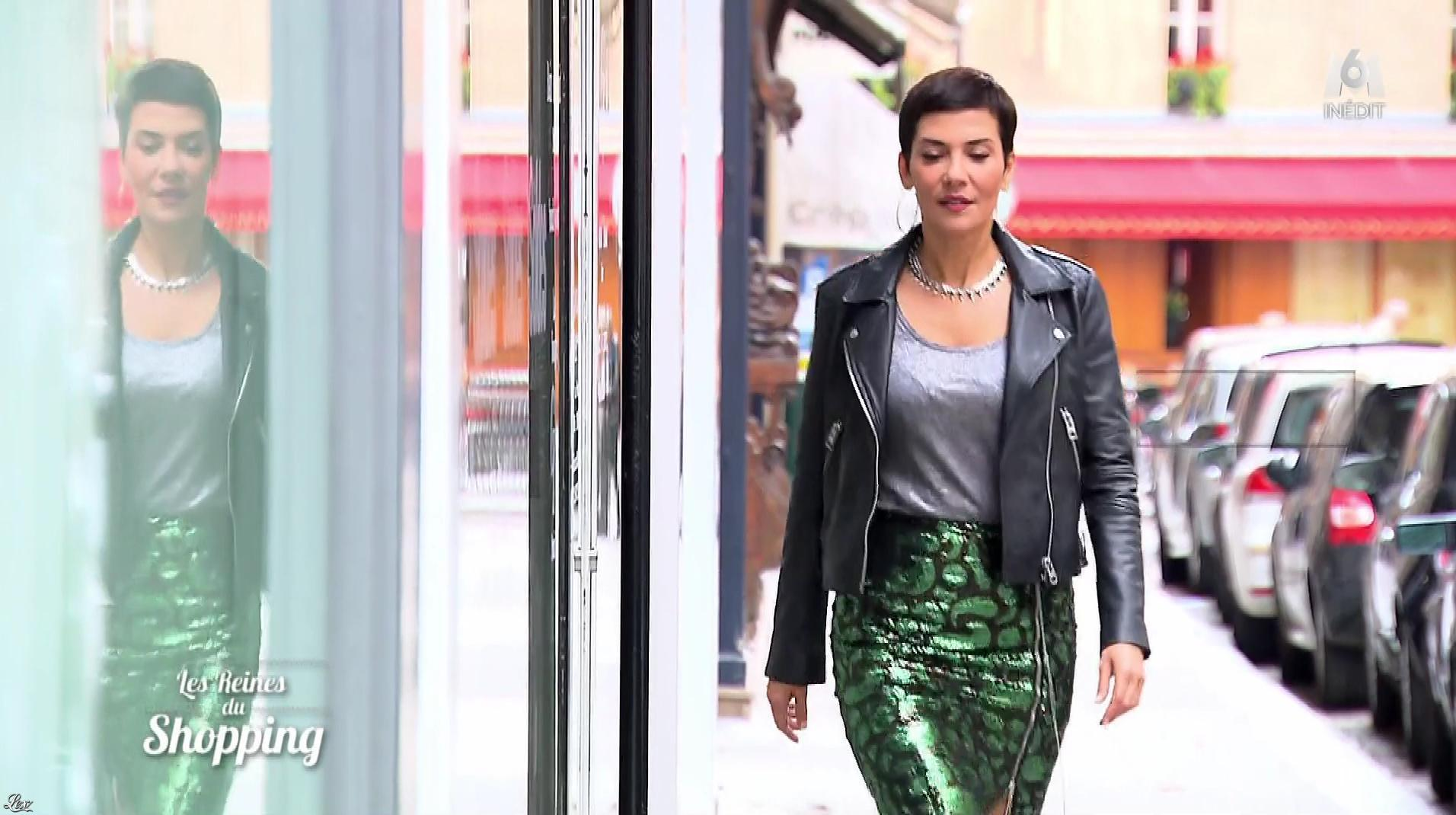 Cristina Cordula dans les Reines du Shopping. Diffusé à la télévision le 02/10/17.
