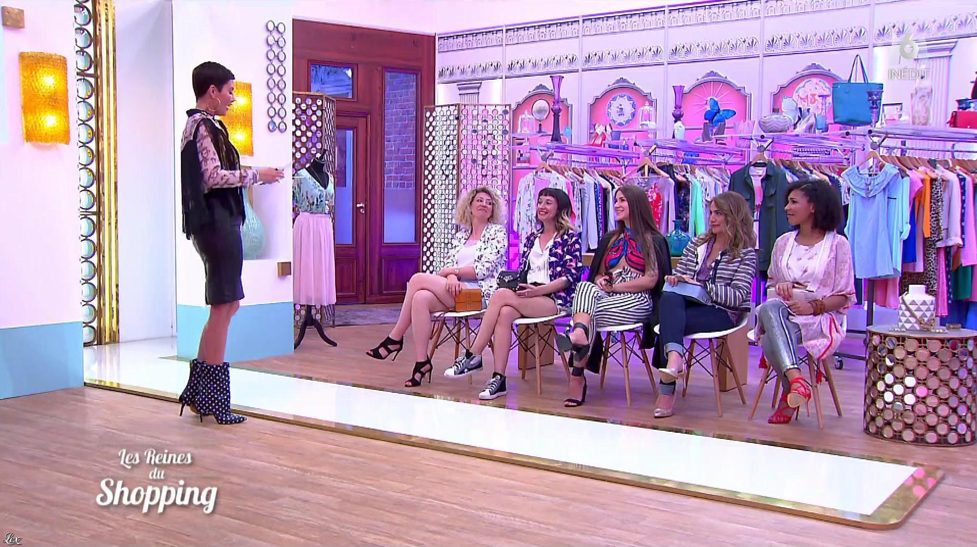 Cristina Cordula dans les Reines du Shopping. Diffusé à la télévision le 20/10/17.