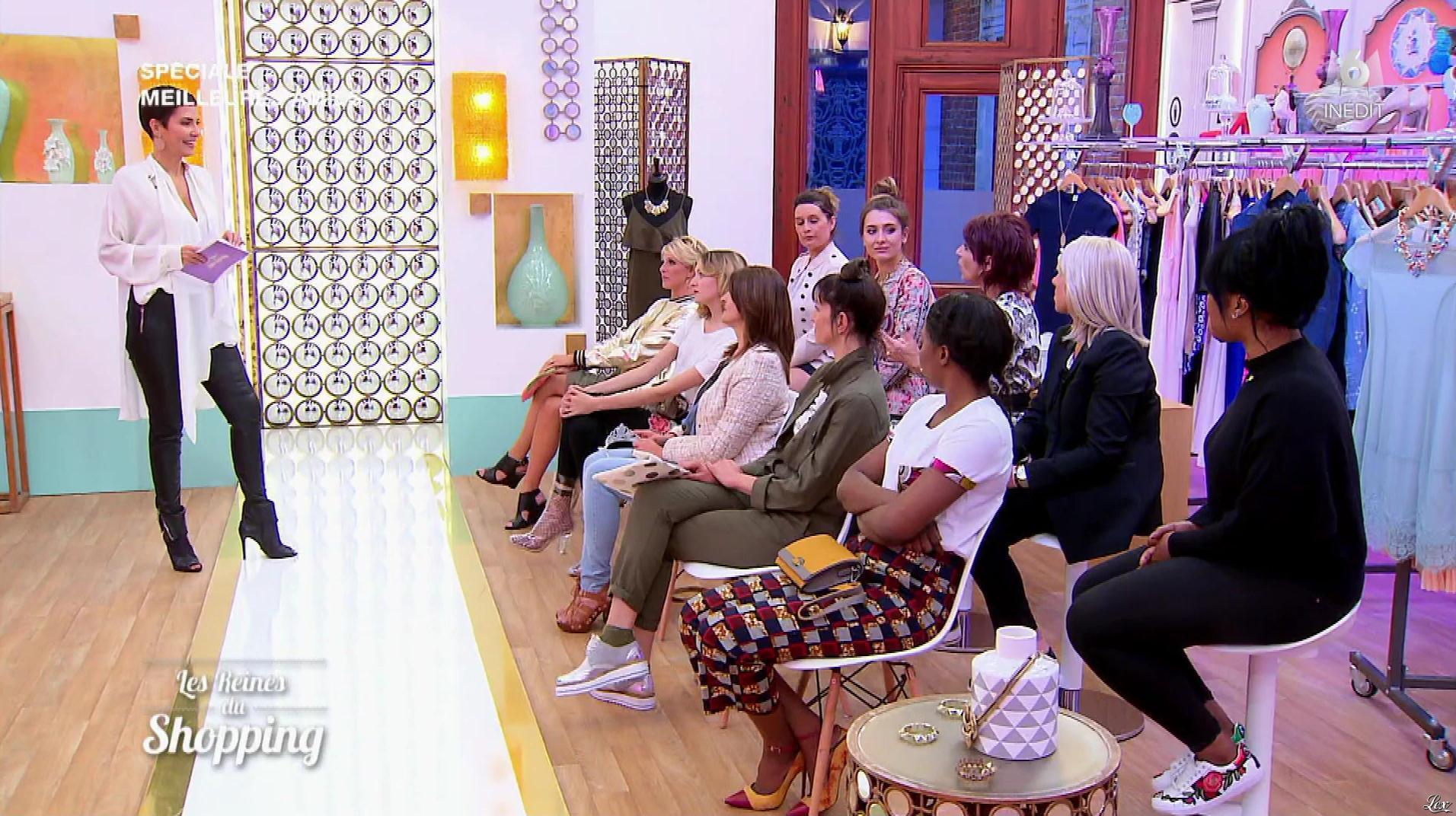 Cristina Cordula dans les Reines du Shopping. Diffusé à la télévision le 29/09/17.