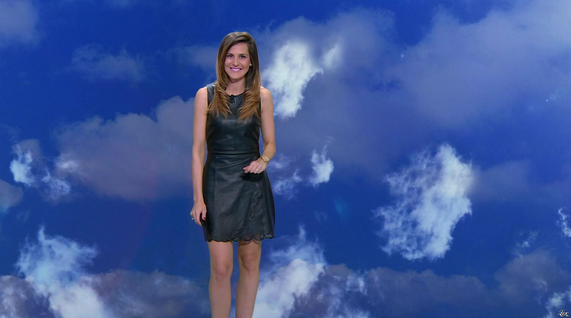 Daniela Prepeliuc à la Météo de BFM TV. Diffusé à la télévision le 11/08/17.